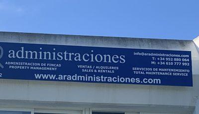 AR administraciones